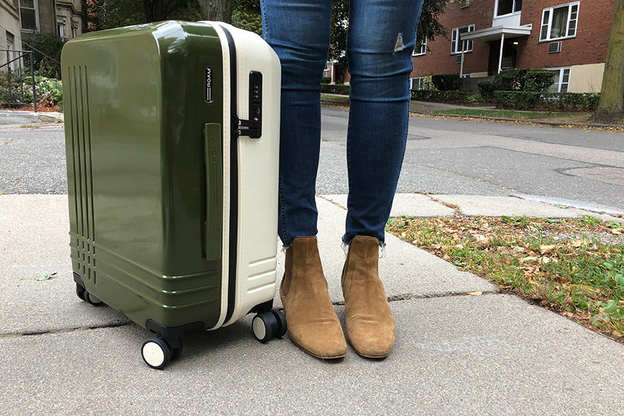 ROAM personalized luggage