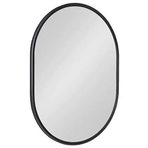 Kate And Laurel Oval Modern Mirror