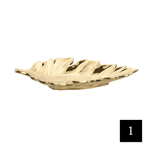 Home Decorators Collection Decorative Leaf Tray