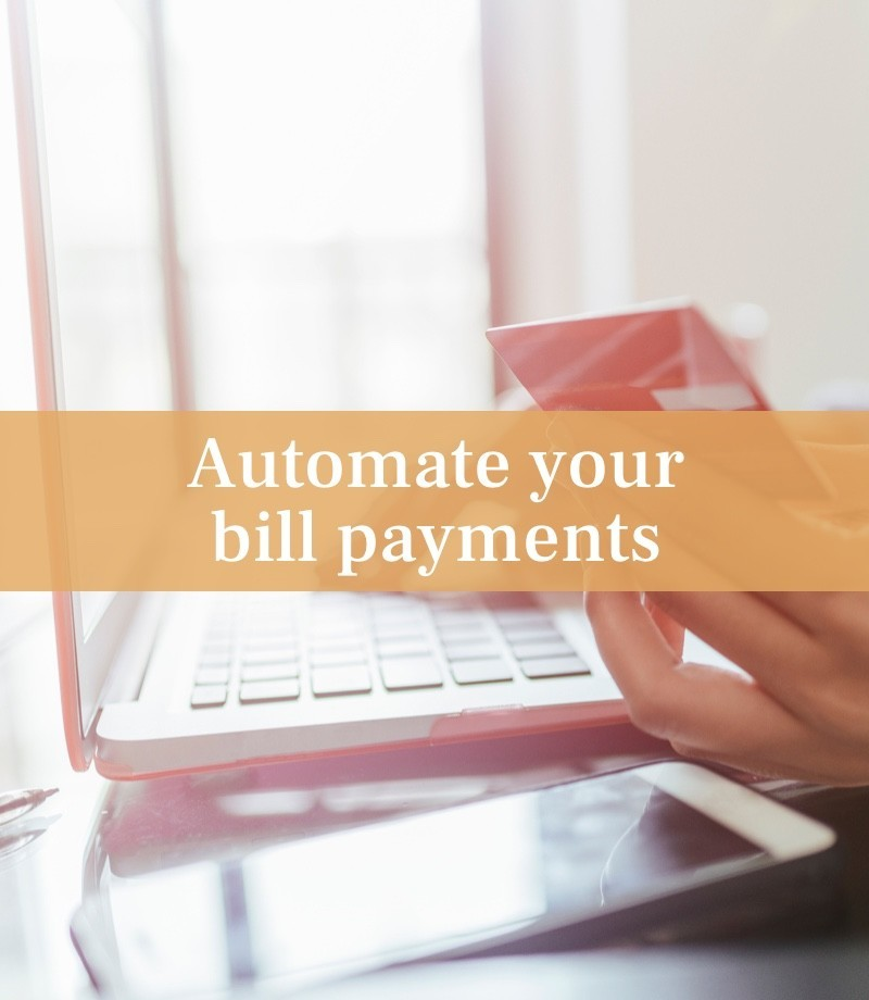 Automate your bill payments