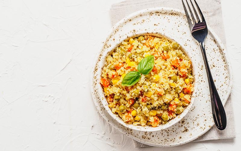 Cauliflower Grain Bowl