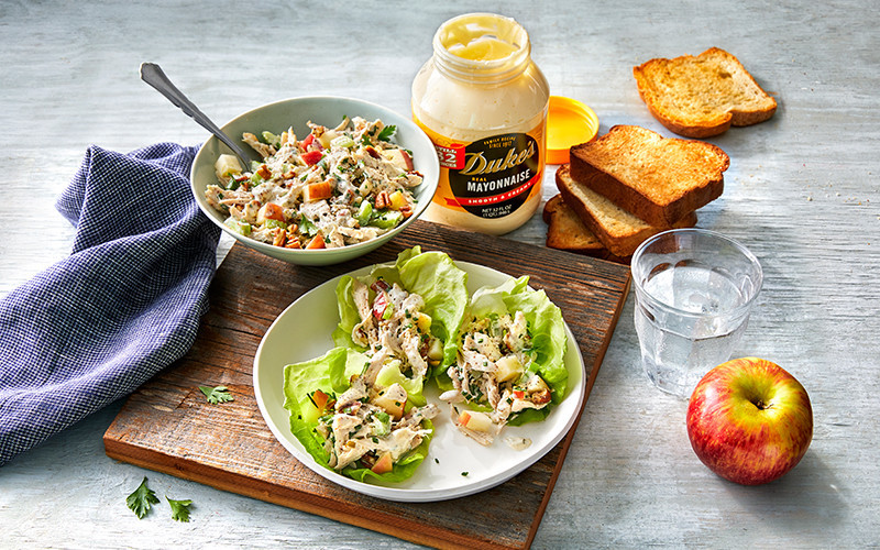 This Apple-Pecan Chicken Salad will Be Your New Go-To