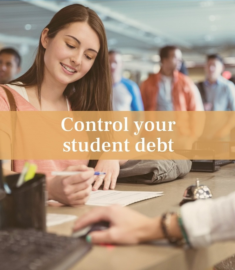 Control your student debt