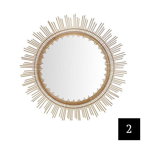 Home Decorators Collection Sunburst Accent Mirror