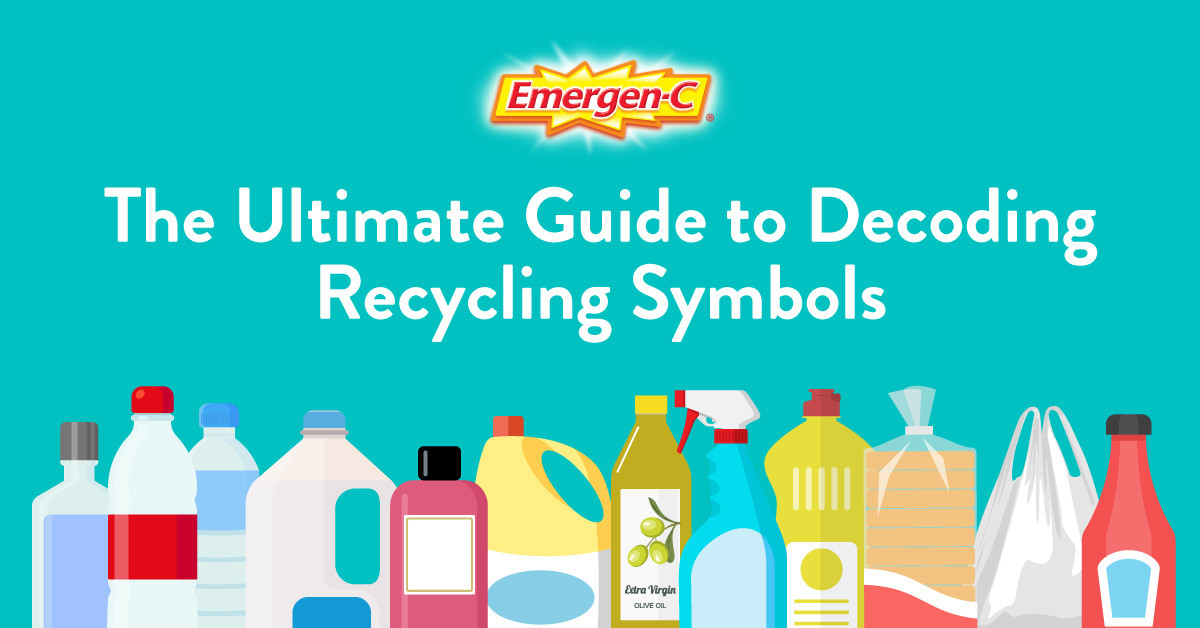 Recycle Right: The Ultimate Guide to Decoding Those Symbols