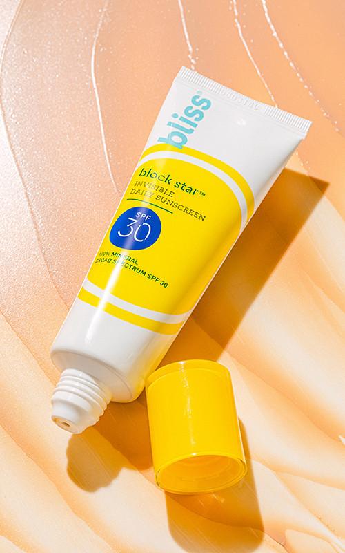 Bliss sunscreen