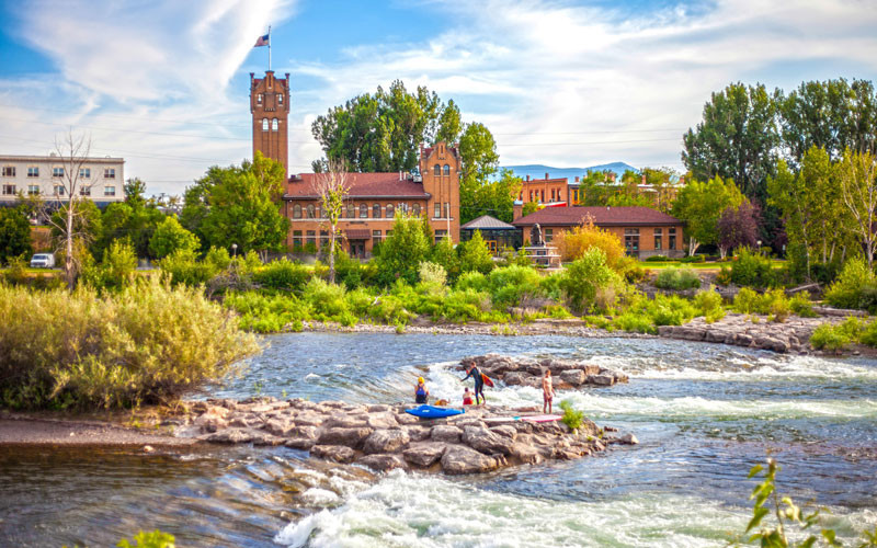 Clark Fork River, Missoula