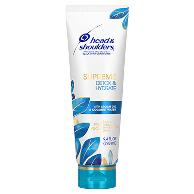 Head & Shoulders Supreme Detox & Hydrate Hair & Scalp Conditioner