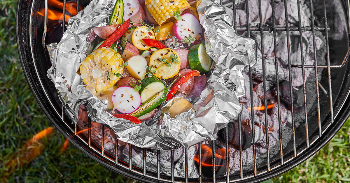 Inputs Tasty Ideas to Try Now: Campfire Foil Packets