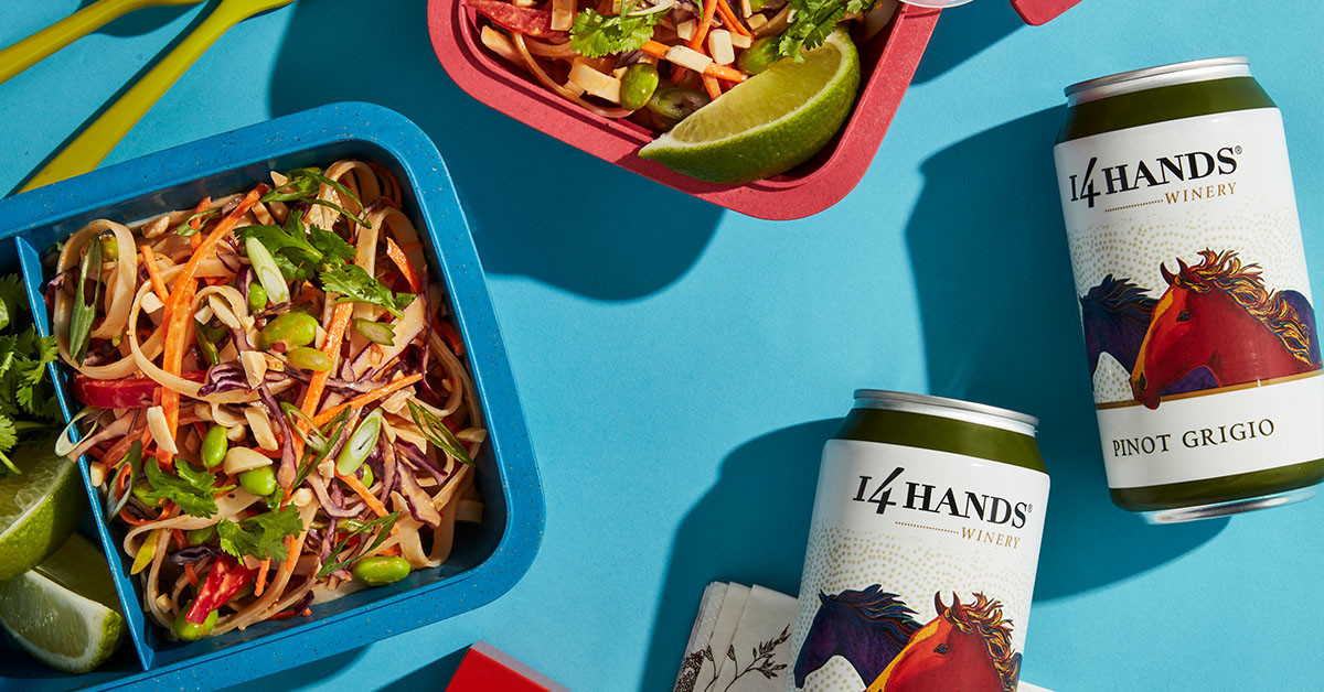 This 30-minute Thai noodle salad is picnic-perfect