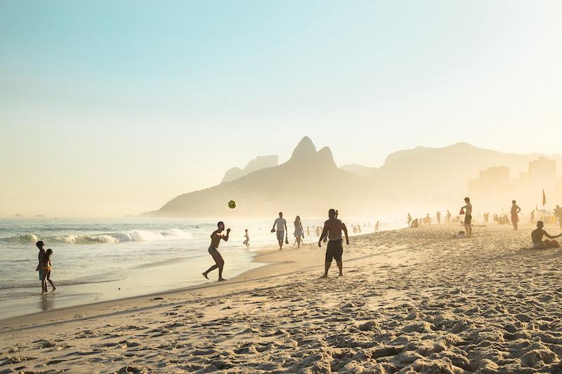 Soccer in Rio de Janeiro