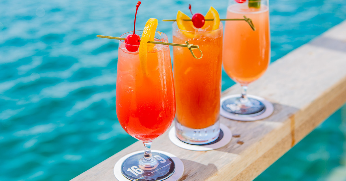 How to Make Two of Marcus' Bermuda's Signature Island Cocktails