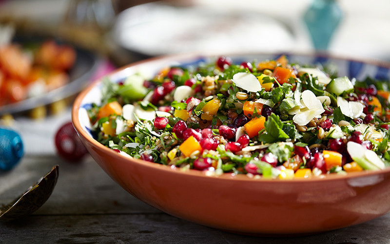 bowl of colorful salad