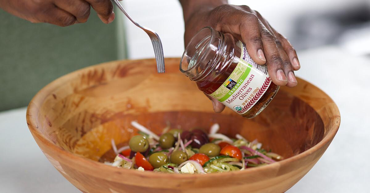 Super Easy Side Salad