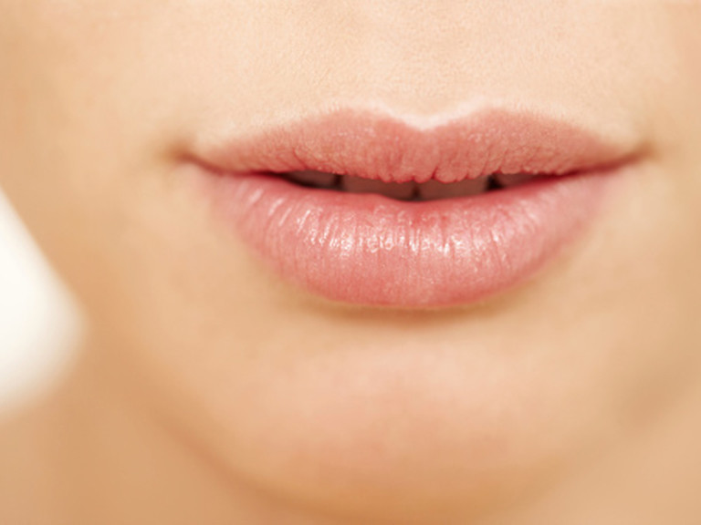 photo of lips