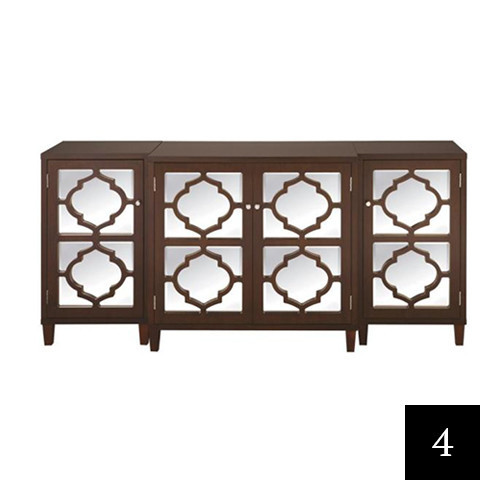 Home Decorators Collection Reflections Console Table