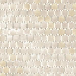 Tempaper Hexagon Tiles Vinyl Peelable Roll