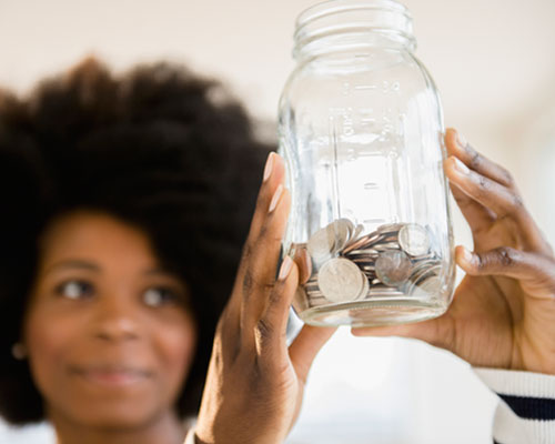 IMAGE: Travel Savings Jar