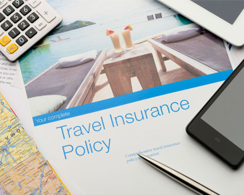 IMAGE: Invest in travel insurance